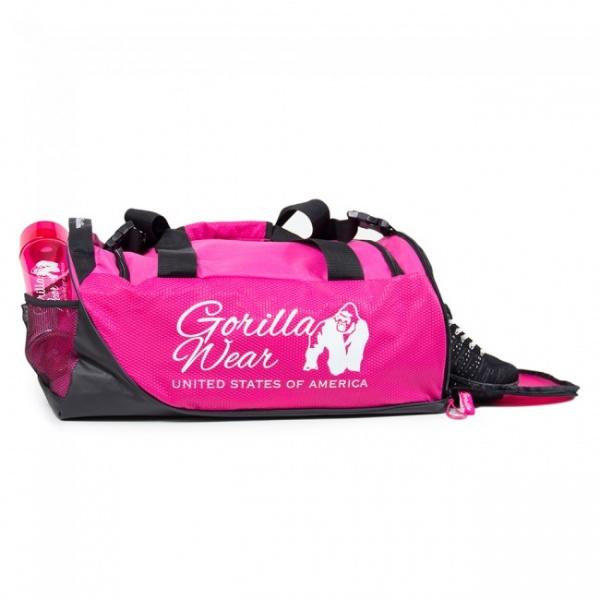 Gorilla Wear Santa Rosa Gym Bag PinkBlack Extreme