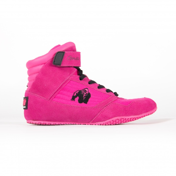 Gorilla Wear Women High Tops Pink Extreme Fitness AS
