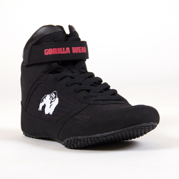 Gorilla Wear High Tops Black Extreme Fitness AS