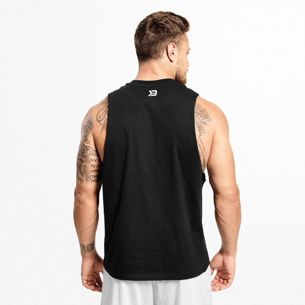 Better Bodies Hamilton ls Wash Black Extreme Fitness AS