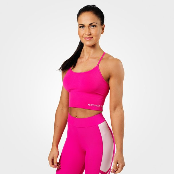bd4528773 Better Bodies Astoria Seamless Bra - Sømløs topp - Hot Pink ...