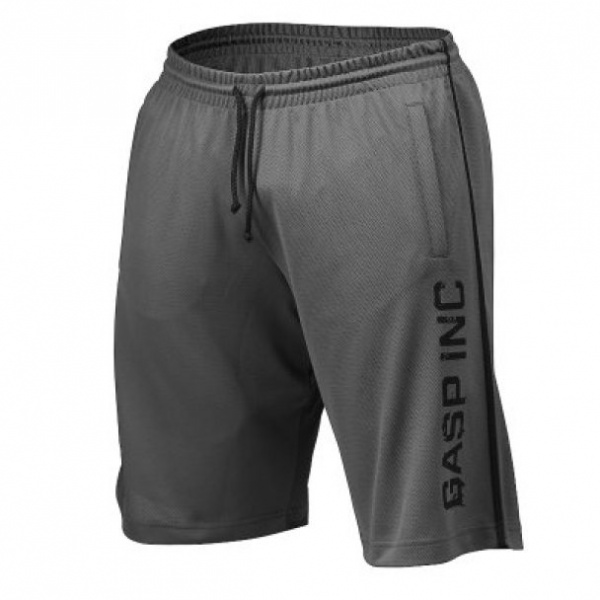 827fa19a Gasp No 89 Mesh Shorts Grey - Treningsshorts - Extreme Fitness AS