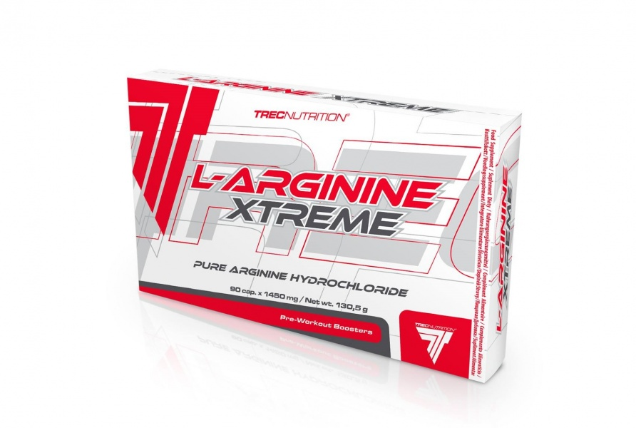 Ultramoderne Trec L-Arginine Xtreme 90 kapsler - Extreme Fitness AS UJ-79
