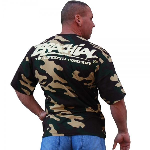 Brachial Skull T skjorte Camo Extreme Fitness AS