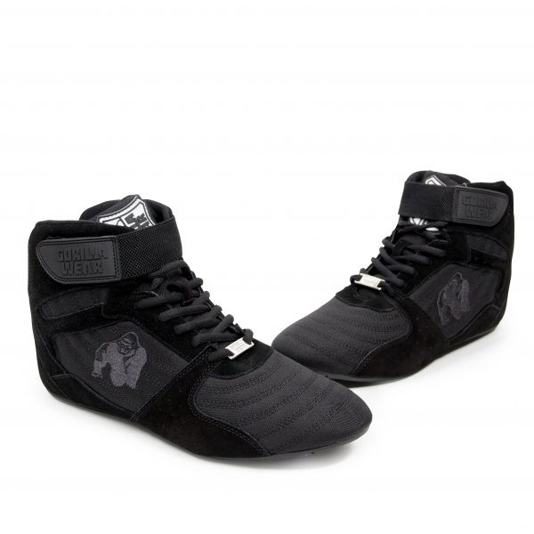 Gorilla Wear Perry High Tops Pro BlackBlack Extreme